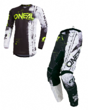 O`Neal ELEMENT Youth Jersey & Pant Combo SHRED black